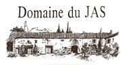 Logo noir et blanc du Domaine du Jas