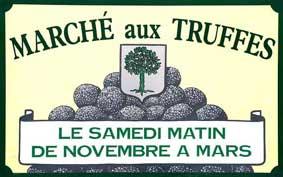 Marché de la truffe à Richerenches - Capitale de la truffe