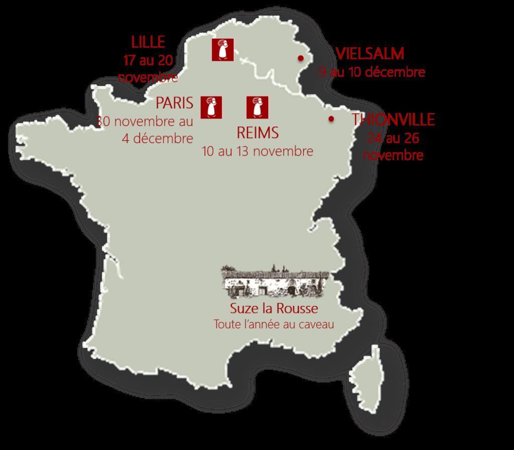 Domaine du jas hubert pierre pradelle vignerons for Salon vin paris