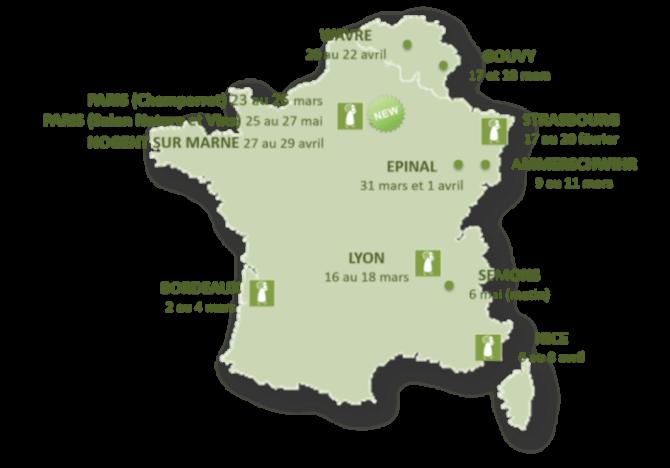 Salon du vin - printemps 2018 - Domaine du Jas - Côtes du Rhône bio