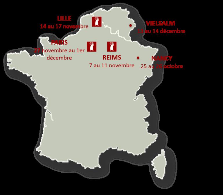 Salons des vins – Automne 2014